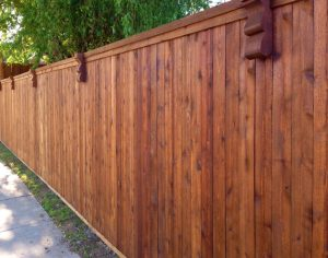 Orlando-cedar-stained-fence